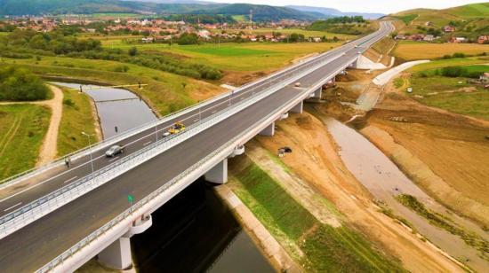 Elkészült a gyalui híd, átadták a sztrádát