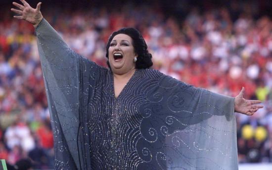 Elhunyt Montserrat Caballé spanyol operaénekesnő