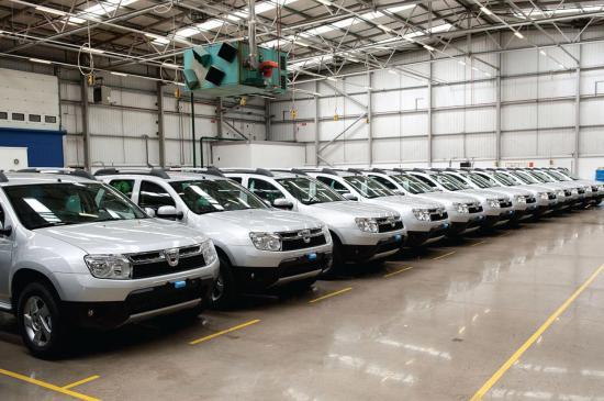 Több Dacia személygépkocsit gyártottak