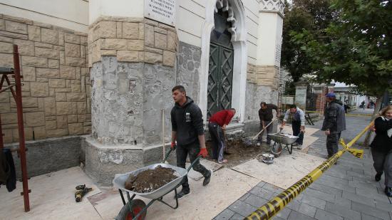 Saját forrásból újul meg a kolozsvári zsinagóga