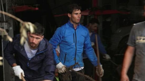 Nadal példaértékű segítséget nyújt a mallorcai árvízkárosultaknak