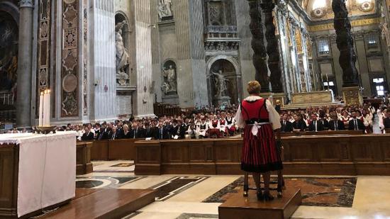 Rendhagyó Magyarok Nagyasszonya ünnepi búcsú Rómában