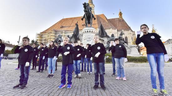 Kerek évforduló a kolozsvári hallássérültek iskolájában