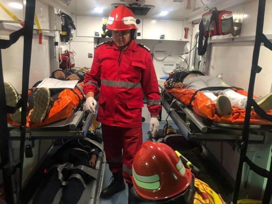 Nagyszabású nemzetközi katasztrófavédelmi gyakorlat zajlik