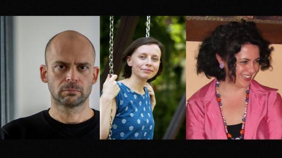 Danyi Zoltán, Mán-Várhegyi Réka és Mariarosaria Sciglitano kapott Déry-díjat