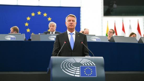 """Johannis: Európának """"egy szívként"""" kell működnie"""