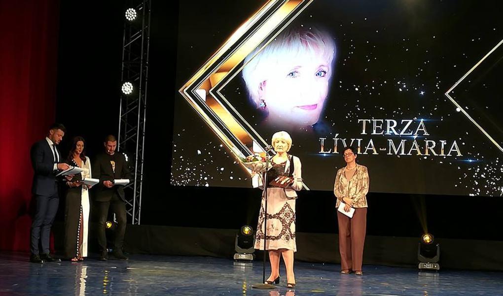 A Szabadság Dr. Terza Lívia-Máriát díjazta