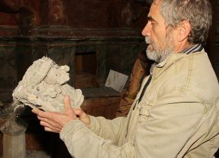 Zajlik a Szent Mihály-templom restaurálása