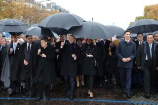 Világháborús centenáriumi ünnepségek Párizsban