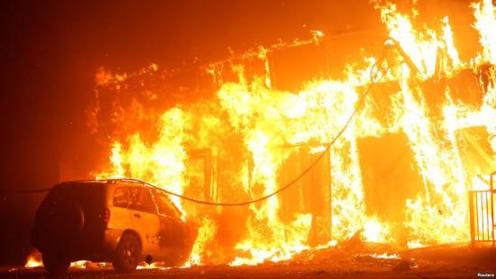 Trump természeti katasztrófa sújtotta területté nyilvánította egész Kaliforniát