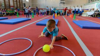 A testet, lelket, közösséget fejlesztő mozgás öröméért: 5. Oviolimpia