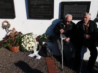 A szovjet munkatáborok áldozataira emlékeztek a kárpátaljai Szolyván