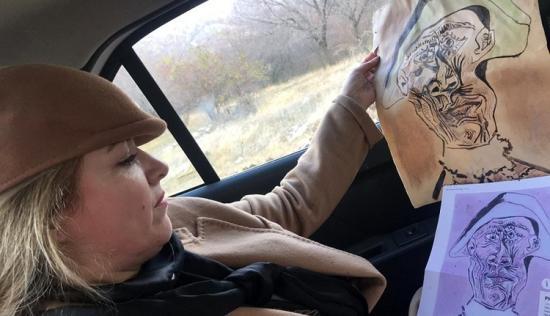 Tulcea megyében, elásva találták meg az ellopott Picasso-képet