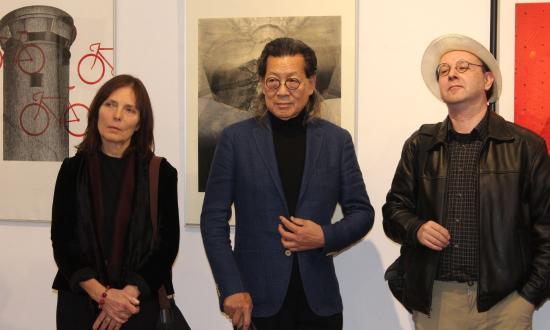 A nemzetközi grafika egy szelete a Művészeti Múzeumban