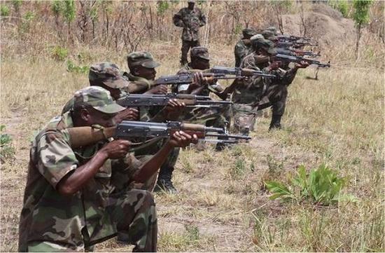Romániában gyártott fegyvereket használtak a dél-szudáni polgárháborúban
