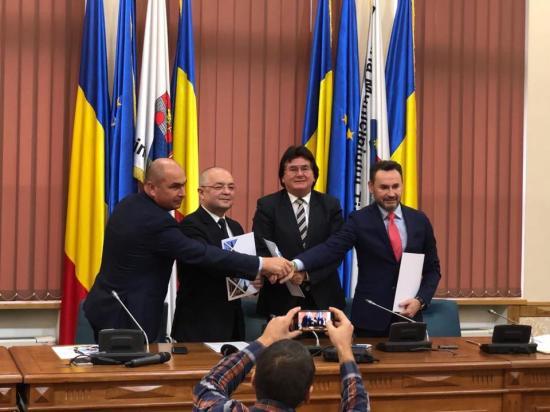 Szövetséget hozott létre Románia négy nyugati nagyvárosa