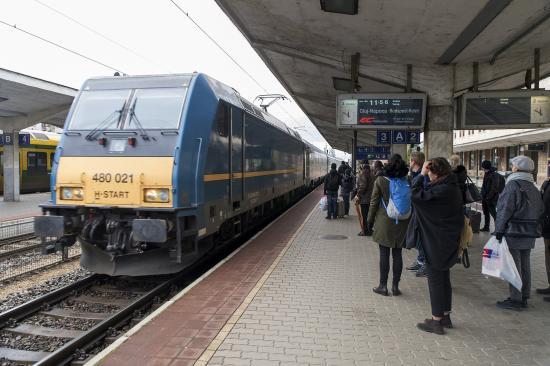Elindult a Kolozsvár és Bécs közötti új vonatjárat