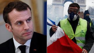 Macron: jogos az elégedetlenség, az erőszak elfogadhatatlan
