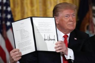 Donald Trump létrehozta az űrhadosztályt