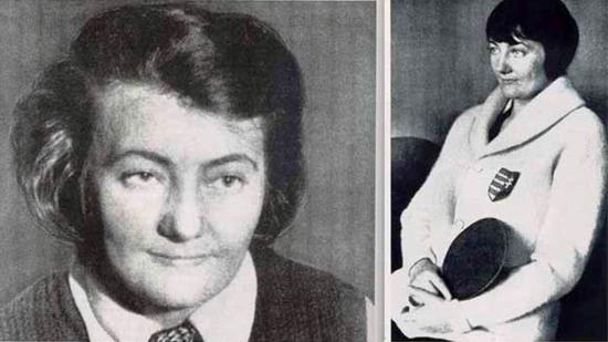 Mednyánszky Mária, az első világbajnok női asztaliteniszező 40 éve halt meg