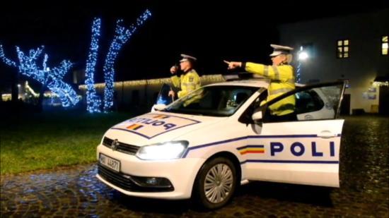 Karácsony előestéjén is szükség volt a rendőrségre