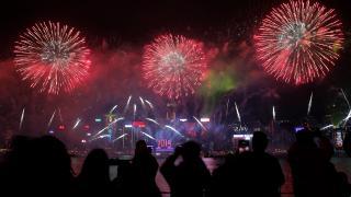 Az új évet köszöntötte a világ