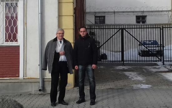 Tőkés László meglátogatta a terrorizmus miatt elítélt Bekééket