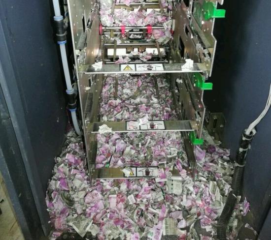 Bankautomatát robbantottak fel Aradon