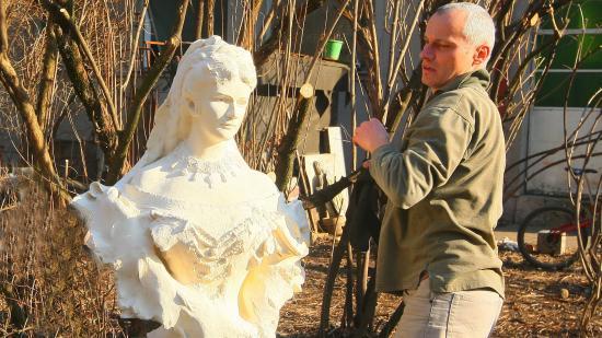 Visszahelyeznék a Sissi-szobor másolatát a Fellegvárra