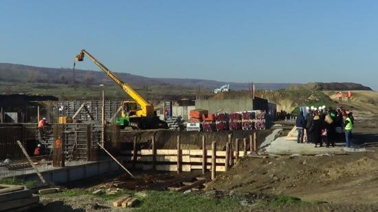 Csökkent az építőipari termelés