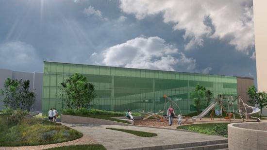 Új parkolóház épül a Monostor negyedben
