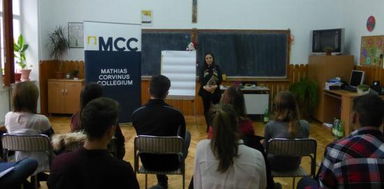 Középiskolásoknak hirdet felvételt az MCC Erdélyben