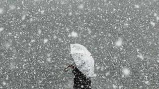 Aktualizált időjárás-előrejelzés: hét megyében kell hóviharra számítani