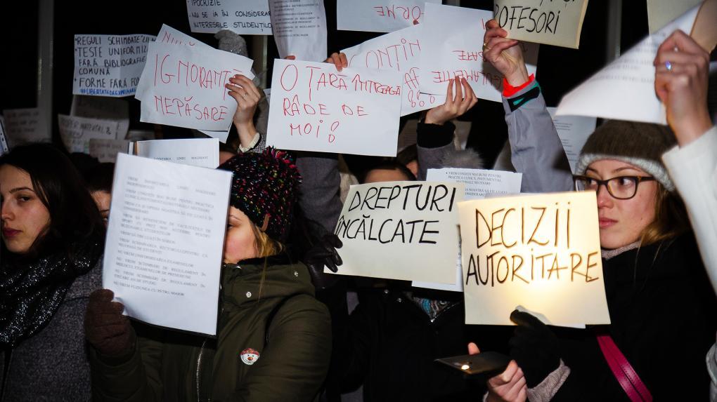 A MOGYTTE-s tüntetések hátteréről diákszemmel is