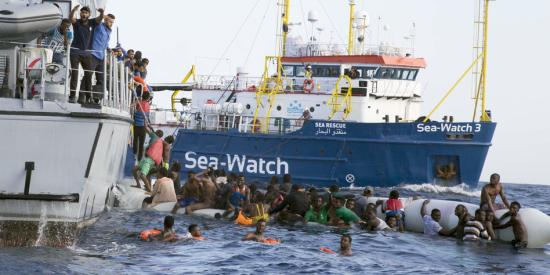 Az EJEB ideiglenes intézkedéseket rendelt el a Sea Watch 3 mentőhajó ügyében