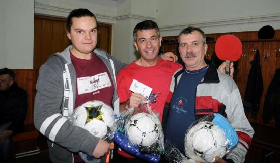 Kilencedszer szerveztek asztalitenisz-bajnokságot Zsobokon