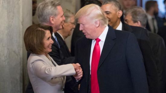 Nancy Pelosi szerint az amerikai képviselőház nem szavaz meg pénzt a falépítésre