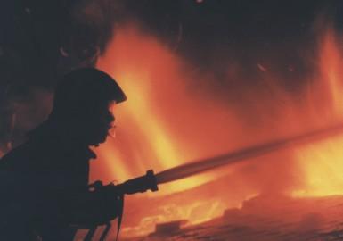 Tűz a Donát úton