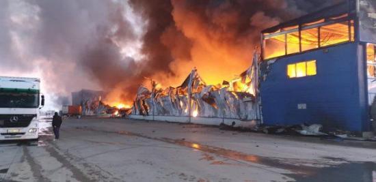 Lángokban Gyulafehérváron Románia legnagyobb fűszergyára