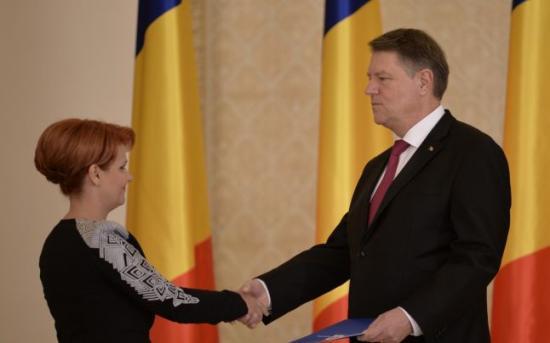 Johannis megtagadta Olguța Vasilescu kormányfőhelyettesi kinevezését