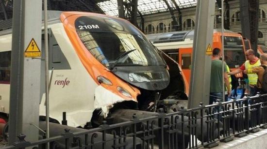 Két román állampolgár is van a Barcelona közelében történt vonatbaleset érintettjei között