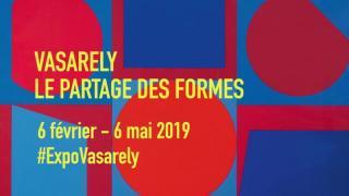 Vasarely-életműkiállítás a párizsi Pompidou Központban