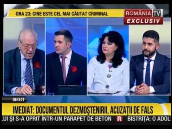 Bombariadó a România Tv székházánál