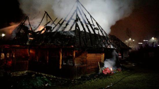 FOTÓK - Tűz a falumúzeumban