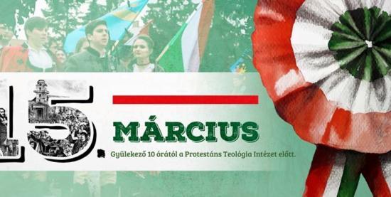 Március 15-ei rendezvények Kolozsváron és Kolozs megyében