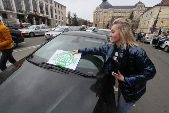 Kolozsváron is tüntettek az autópályákért
