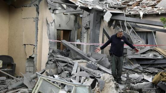 Izrael kemény válaszcsapással torolja meg a palesztin rakétatámadást