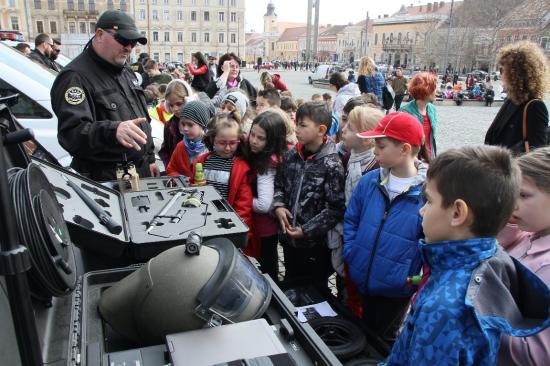 Rendőrségi arzenál Kolozsvár Főterén