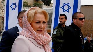 Visszakozott Dăncilă az izraeli nagykövetség Jeruzsálembe költöztetése ügyében (FRISSÍTVE)