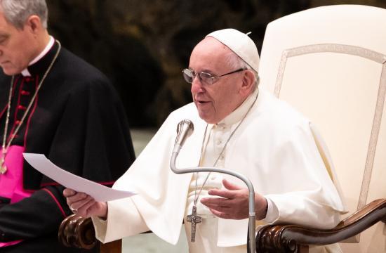 Ferenc pápa: az étel nem magántulajdon